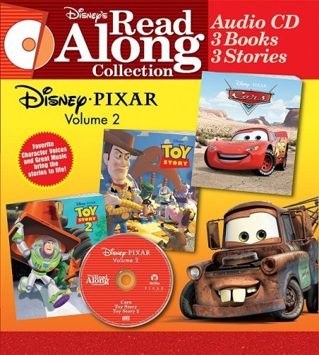 Disney's Pixar Vol. 2 Collection: Disney's Cars, Toy Story, and Toy Story 2 (Disney ...