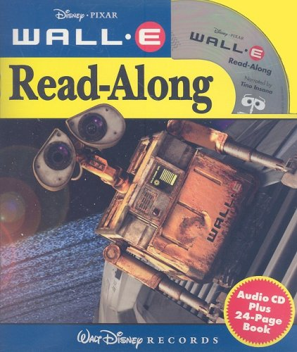 9780763421984: Wall-E [With Paperback Book] (Disney Read-Along)