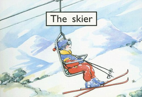 The Skier (Rigby PM Collection: PM Starters: Randell, Beverley; Giles,