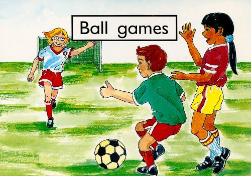 Ball Games (Rigby PM Collection: PM Starters: Giles, Jenny