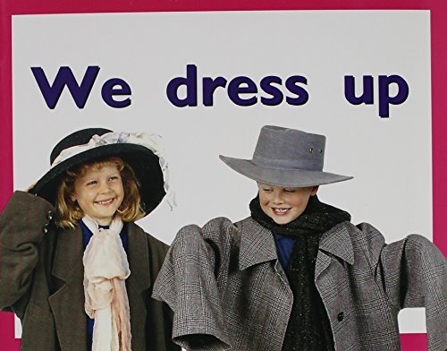 9780763559458: We Dress Up: Student Reader (Level 1) (Rigby Pm Plus Starters)