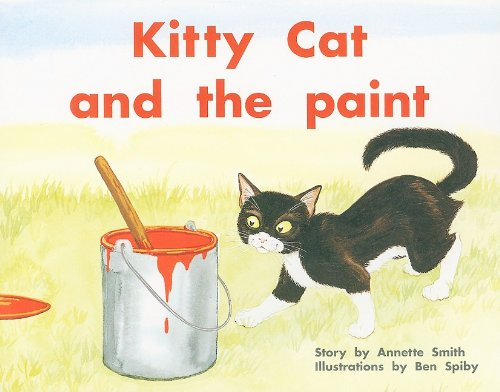 9780763572914: Kitty Cat & the Paint (PM Plus Story Books: Level 9)