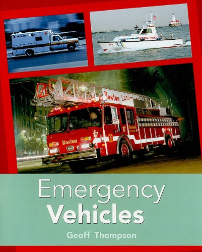 Rigby PM Plus: Individual Student Edition Turquoise (Levels 17-18) Emergency Vehicles: RIGBY