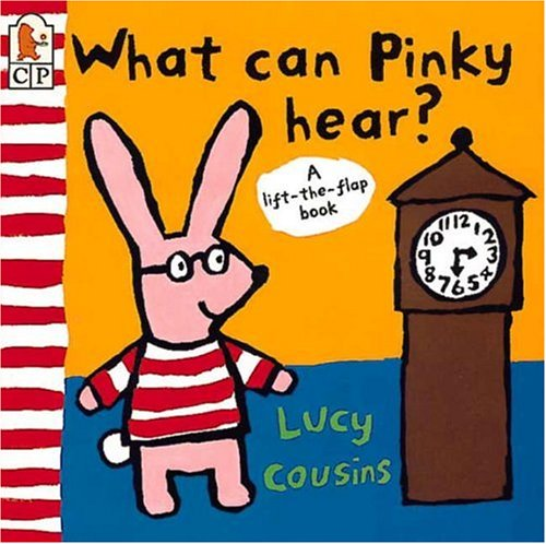 9780763601096: What Can Pinky Hear?: A Lift-the-flap Book