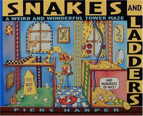 9780763603335: Snakes and Ladders (and Hundreds of Mice): A Weird and Wonderful Tower Maze
