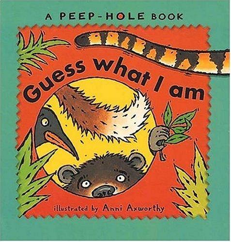 9780763606251: Peepholes: Guess What I Am (A Peephole Book)