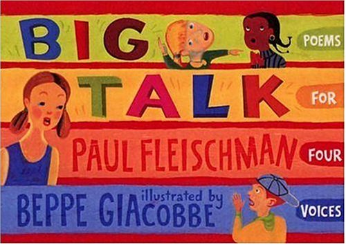 9780763606367: Big Talk: Poems for Four Voices