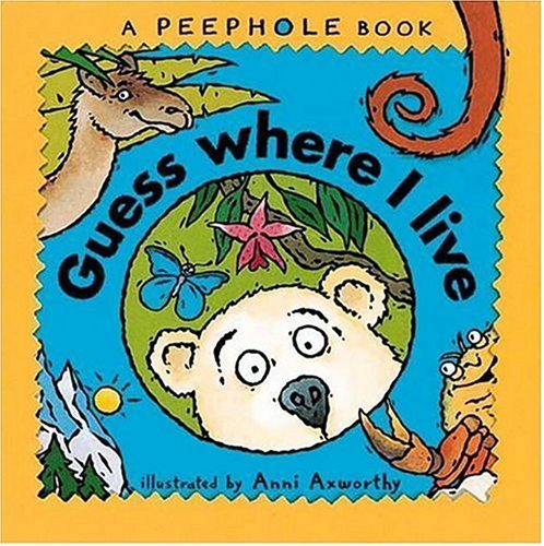 9780763607333: Peepholes: Guess Where I Live (Peephole Book)