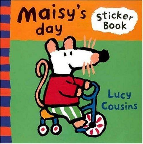 9780763607500: Maisy's Day: A Sticker Book