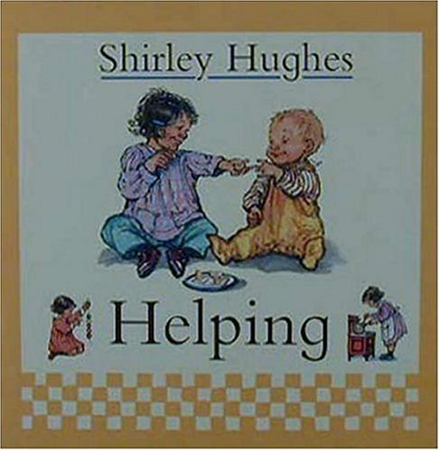 Helping 9780763607975 When two toddlers decide to lend a helping hand, they get right down to business in this charming tale with full-color illustration.