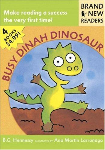 9780763611415: Busy Dinah Dinosaur: Brand New Readers