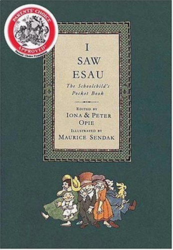 9780763611996: I Saw Esau: The Schoolchild's Pocket Book