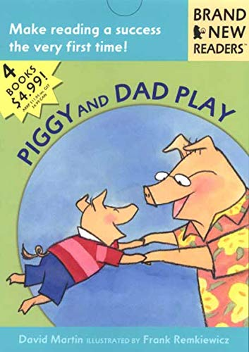 Piggy and Dad Play: 4 Brand New Readers: Sledding/ Play Ball!/ Water Balloons/ ...