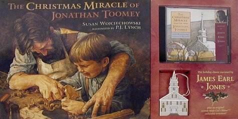 9780763613754: The Christmas Miracle of Jonathan Toomey (with Audio CD and Ornament)