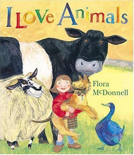 9780763615468: I Love Animals