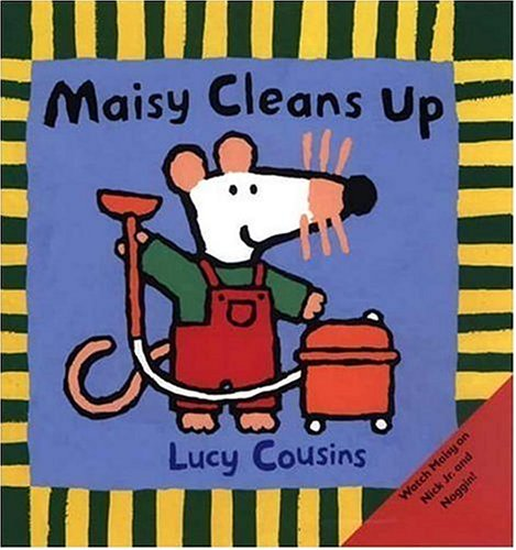9780763617110: Maisy Cleans Up