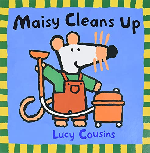 9780763617127: Maisy Cleans Up