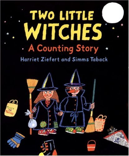 9780763618940: Two Little Witches: A Halloween Counting Story