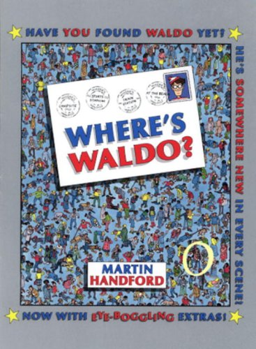 9780763619206: Where's Waldo?: With Free Magnifying Lens