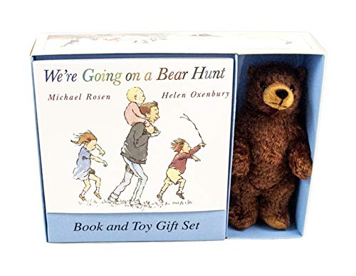 9780763619794: We're Going on a Bear Hunt Book and Toy Gift Set