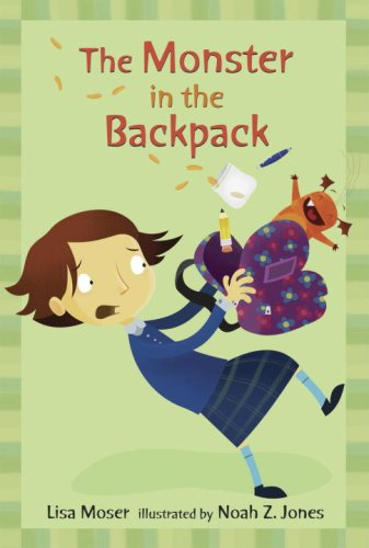 9780763623906: The Monster in the Backpack: Candlewick Sparks (Candlewick Readers)