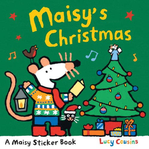 9780763625122: Maisy's Christmas Sticker Book