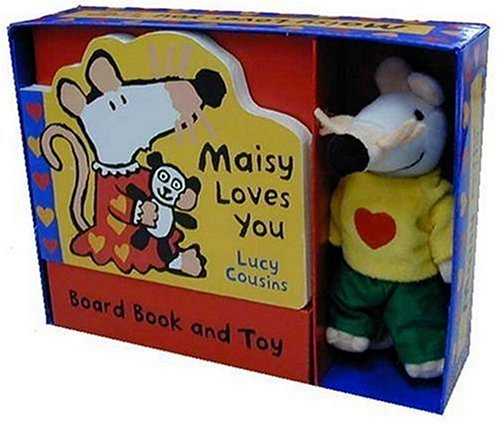 9780763625641: Maisy Loves You: Book and Toy Gift Set