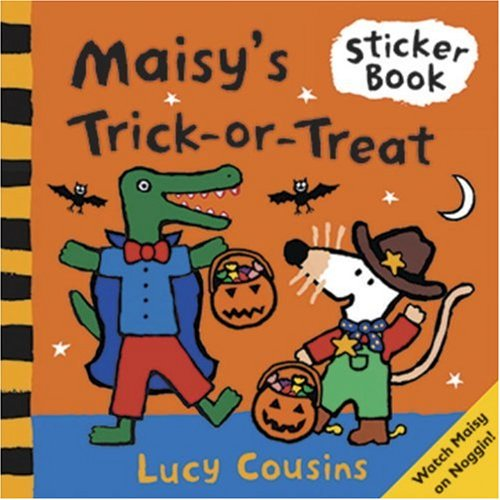 9780763627317: Maisy's Trick-or-treat Sticker Book