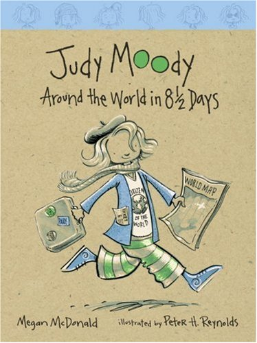 9780763628321: Judy Moody: Around the World in 8 1/2 Days (Book #7)
