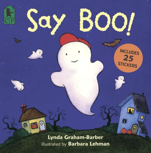 9780763629113: Say Boo!: A Sticker Book