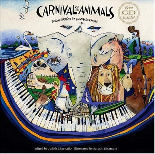 9780763629601: Carnival of the Animals with CD: Poems Inspired by Saint-Saëns' Music
