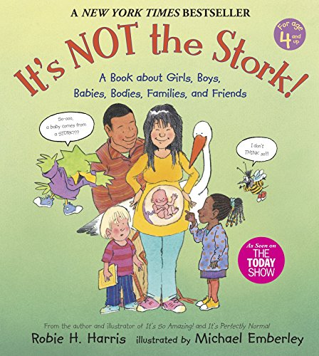 9780763633318: It's Not the Stork!: A Book About Girls, Boys, Babies, Bodies, Families and Friends (Robie Sex Books)