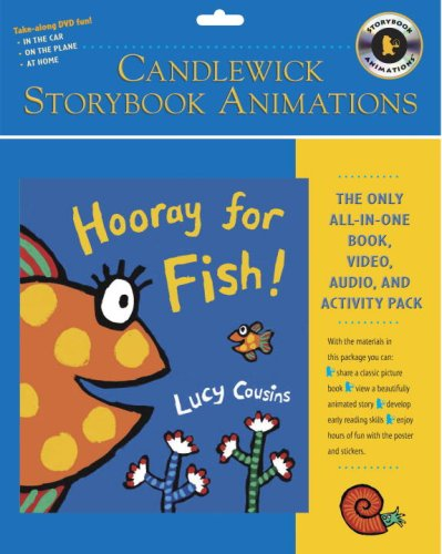 9780763634414: Hooray for Fish! (Book & DVD) (Candlewick Storybook Animations)