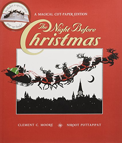9780763634698: The Night Before Christmas: A Magical Cut-Paper Edition