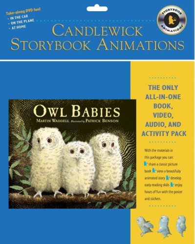 9780763635381: Owl Babies: Candlewick Storybook Animations