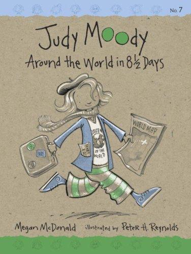 9780763635725: Judy Moody: Around the World in 8 1/2 Days (Book #7)