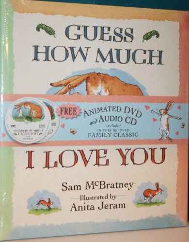 9780763636043: Guess How Much I Love You with DVD & CD