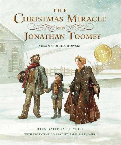 9780763636296: The Christmas Miracle of Jonathan Toomey with CD: Gift Edition
