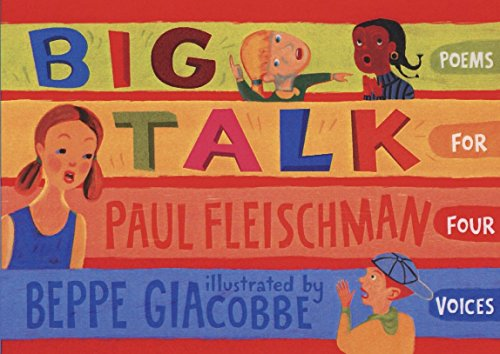 9780763638054: Big Talk: Poems for Four Voices