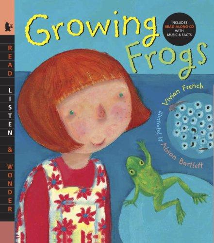 9780763638313: Growing Frogs with Audio: Read, Listen, & Wonder