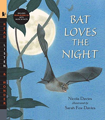 9780763638634: Bat Loves the Night with Audio: Read, Listen, & Wonder
