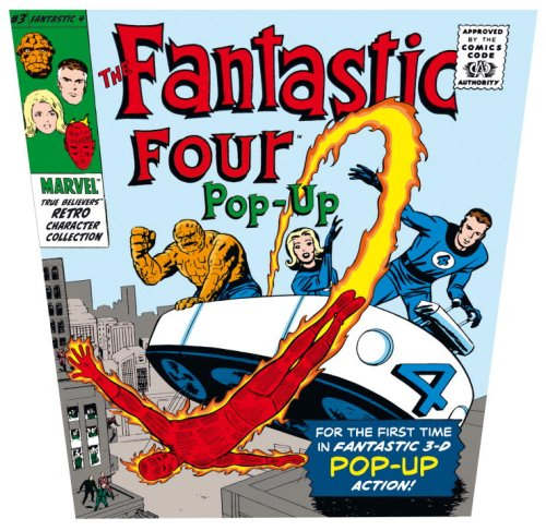 9780763639082: The Fantastic Four Pop-Up: Marvel True Believers Retro Collection