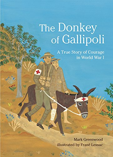 9780763639136: The Donkey of Gallipoli: A True Story of Courage in World War I