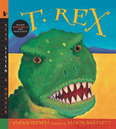 9780763639990: T. Rex with Audio: Read, Listen, & Wonder