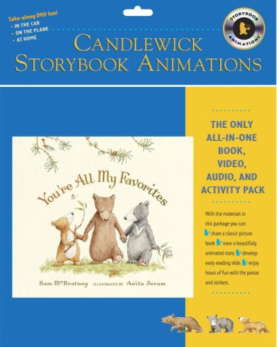 9780763640453: You're All My Favorites: Candlewick Storybook Animations