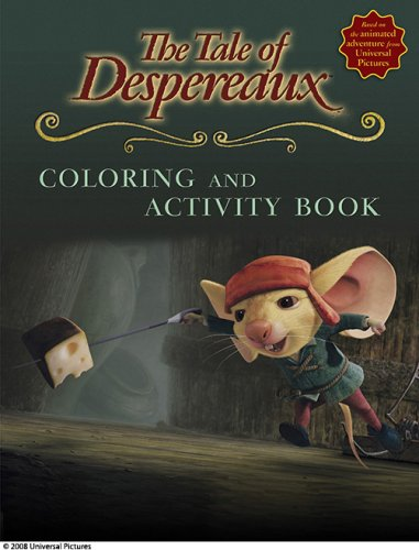 9780763640736: The Tale of Despereaux Movie Tie-In: Coloring and Activity Book