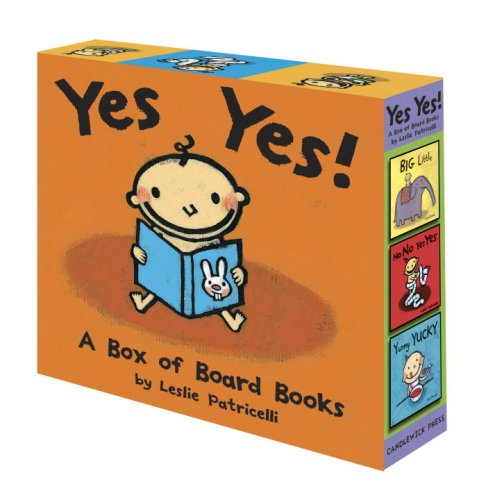 9780763641580: Yes Yes! A Box of Board Books (Leslie Patricelli board books)