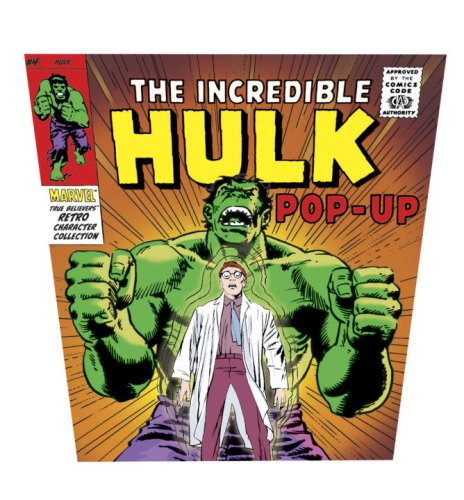 9780763641610: The Incredible Hulk Pop-up: Marvel True Believers Retro Collection