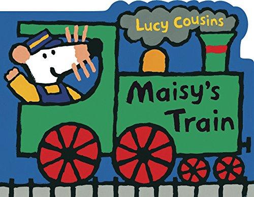 9780763642518: Maisy's Train: A Maisy Shaped Board Book