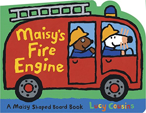 9780763642525: Maisy's Fire Engine: A Maisy Shaped Board Book